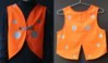 Gilet_fluo_enfant, coccinelle, coloris orange, rayon_jaune